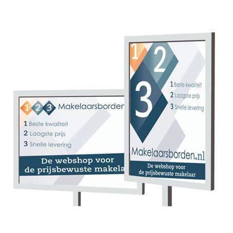 "Makelaarsbord ""Amsterdam"""