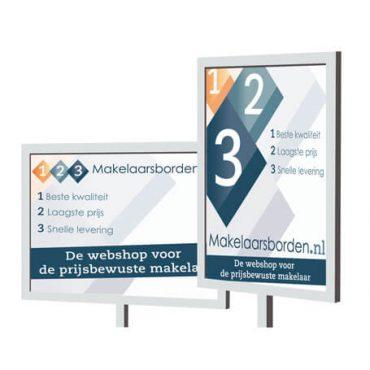 Makelaarsbord Amsterdam