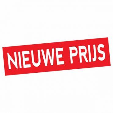 Sticker Nieuwe Prijs