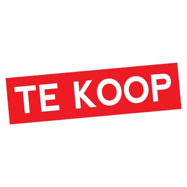 Sticker Te Koop